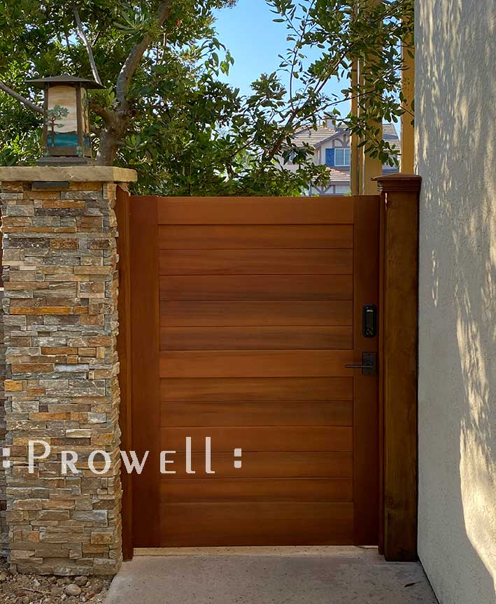 site photograph showing security privacy gates 108-5 in san diego, california