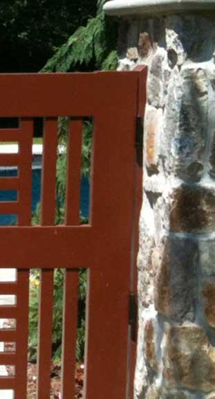 wood garden gates #10-5 in Rockoff, NJ
