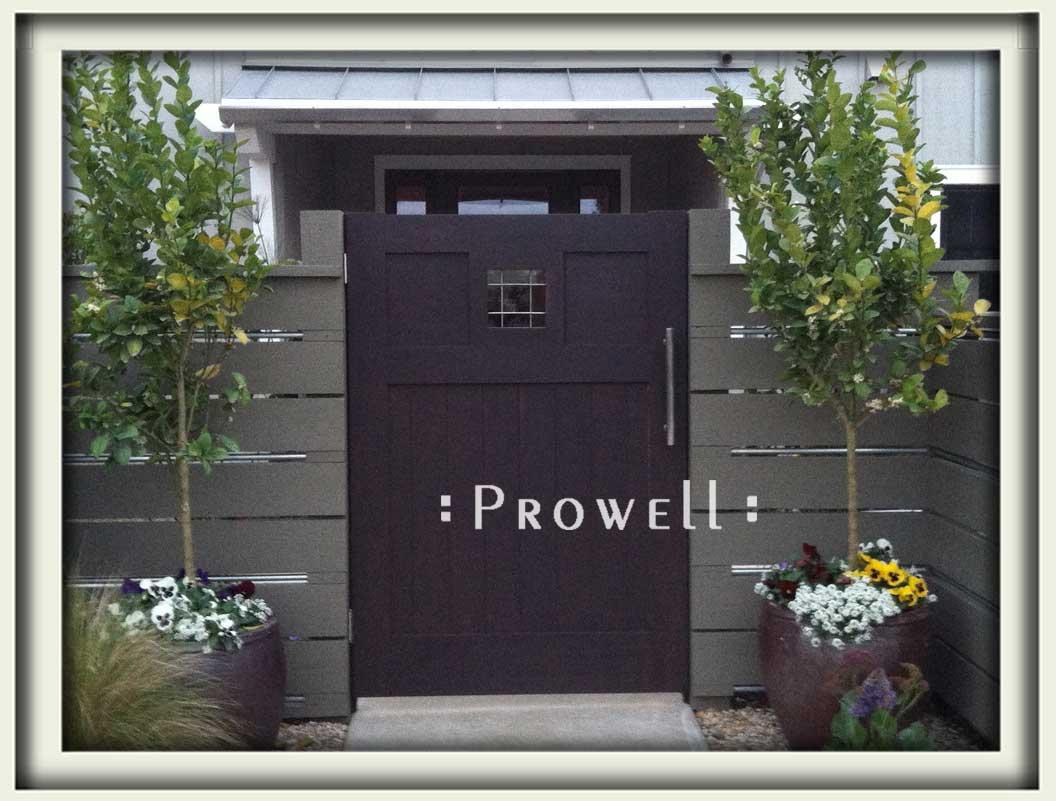 site photograph showing window gate #112-2 in Encinitas, California