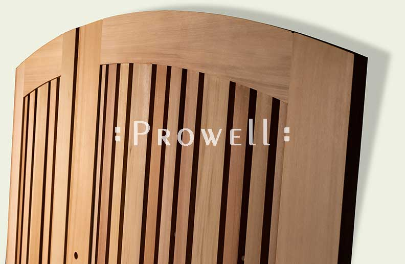 custom wood gate #113-2b on Oakland, CA. prowell