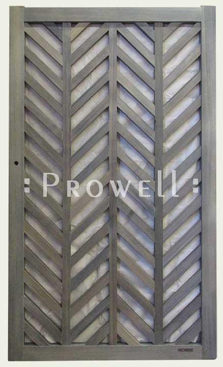chevron pattern wood gates #11