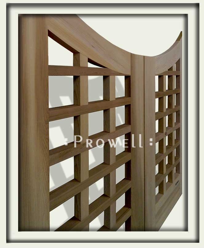 arched wooden garden gates #13 in San Francisco