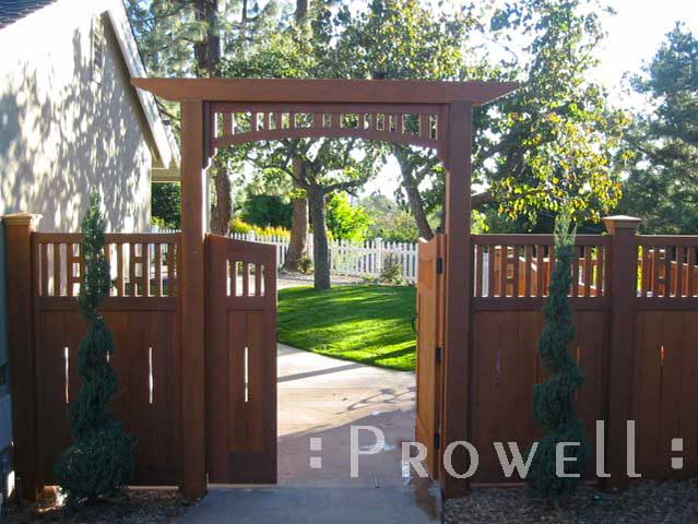 image showing double gates #71-1 from the courtyard in santa anna, california