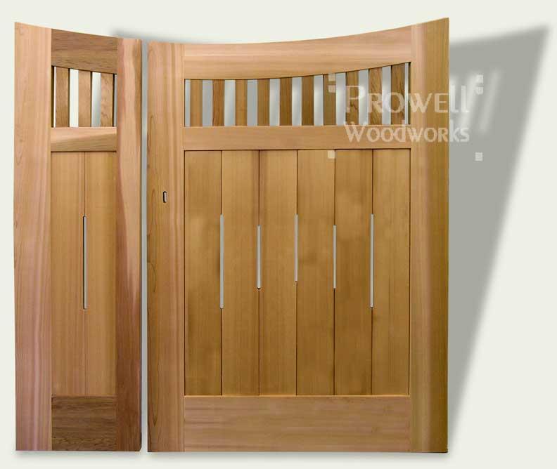 double garden gates #17-1 image