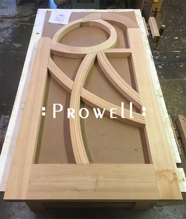 photograph in the woodworking shop showing how to build the wood gate #200-A