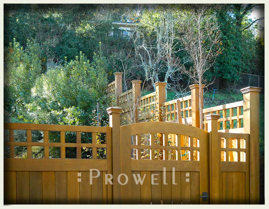 image of gate and fence in san francisco bay area.