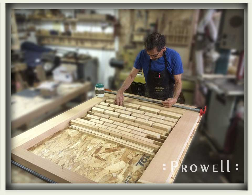shop progress photo showing charles with the illusion gate #211aa