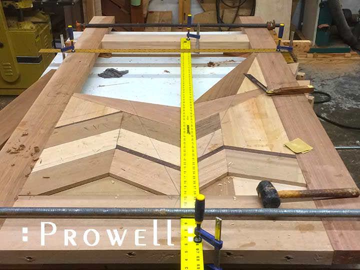 shop progress showing building the outstanding gate #217