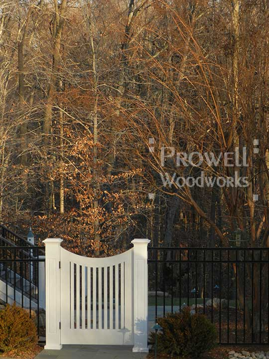 site photo of a single gate design #25-2 in maryland