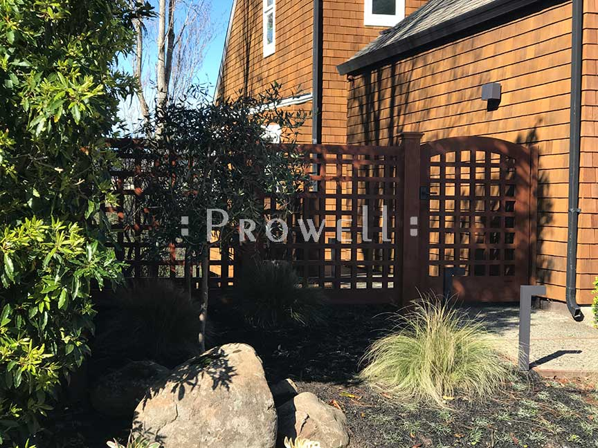 Site photo of gate designs #27 in Mill Valley, California