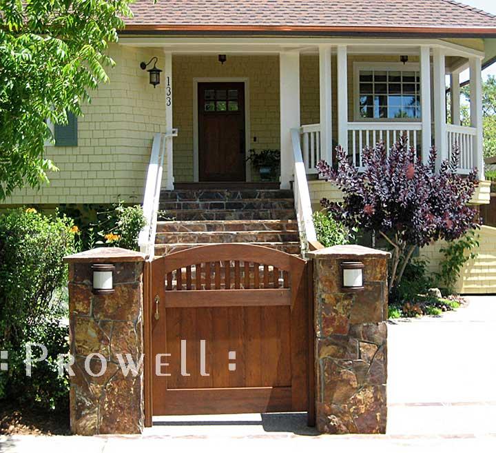 Wood Garden Gate #28 in Mill Valley, ca