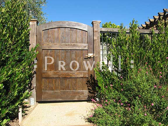 solid wood privacy garden gate #29-14