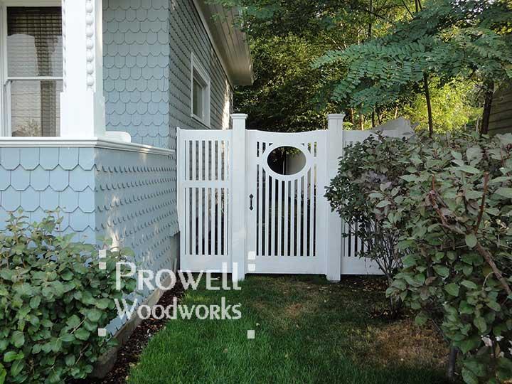 Wood garden gates in Walla Walla, WA