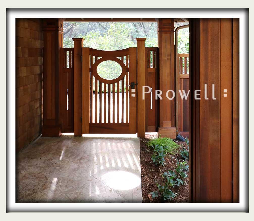 gate design #2-12 in Marin County
