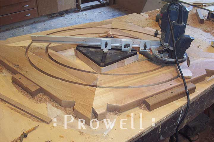 how to build a wood ovel gate #2 by Prowell