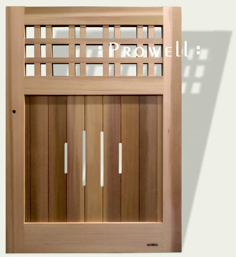 Arts and Crafts wood gate #3