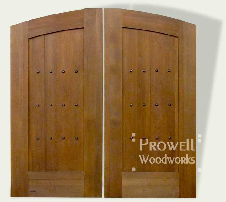 cropped image of custom wood gate #31-3