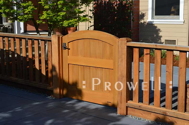 wooden gates 31-4 in Sonoma County, California