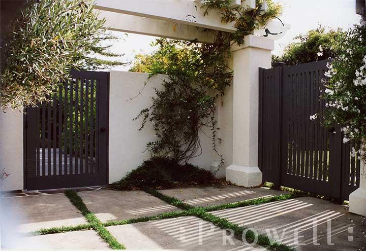 Site photo showing picket gate #32-3 in San Rafael, California