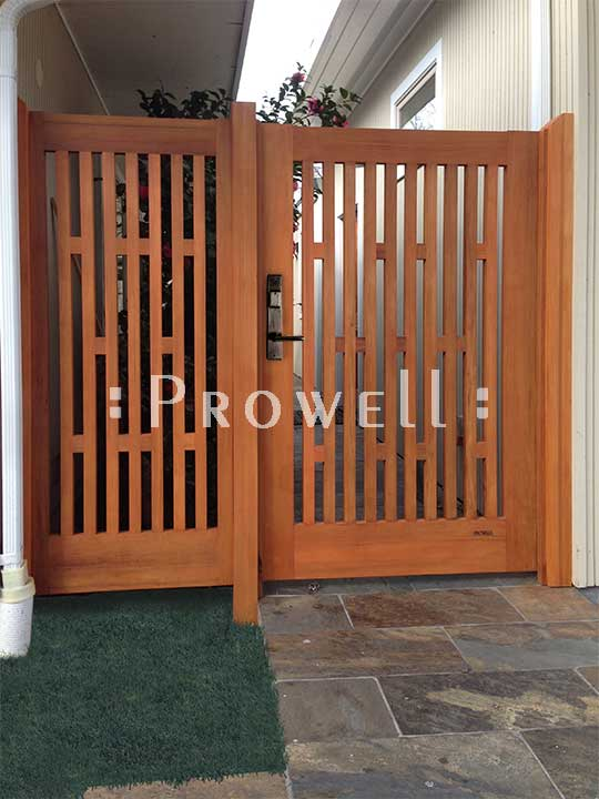 custom wood fence Panels in Silicone Valley, California
