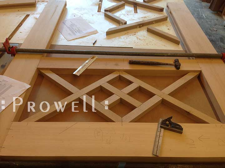 Creating the Traditional wood gate #39 in the shop. How to build a wood gate