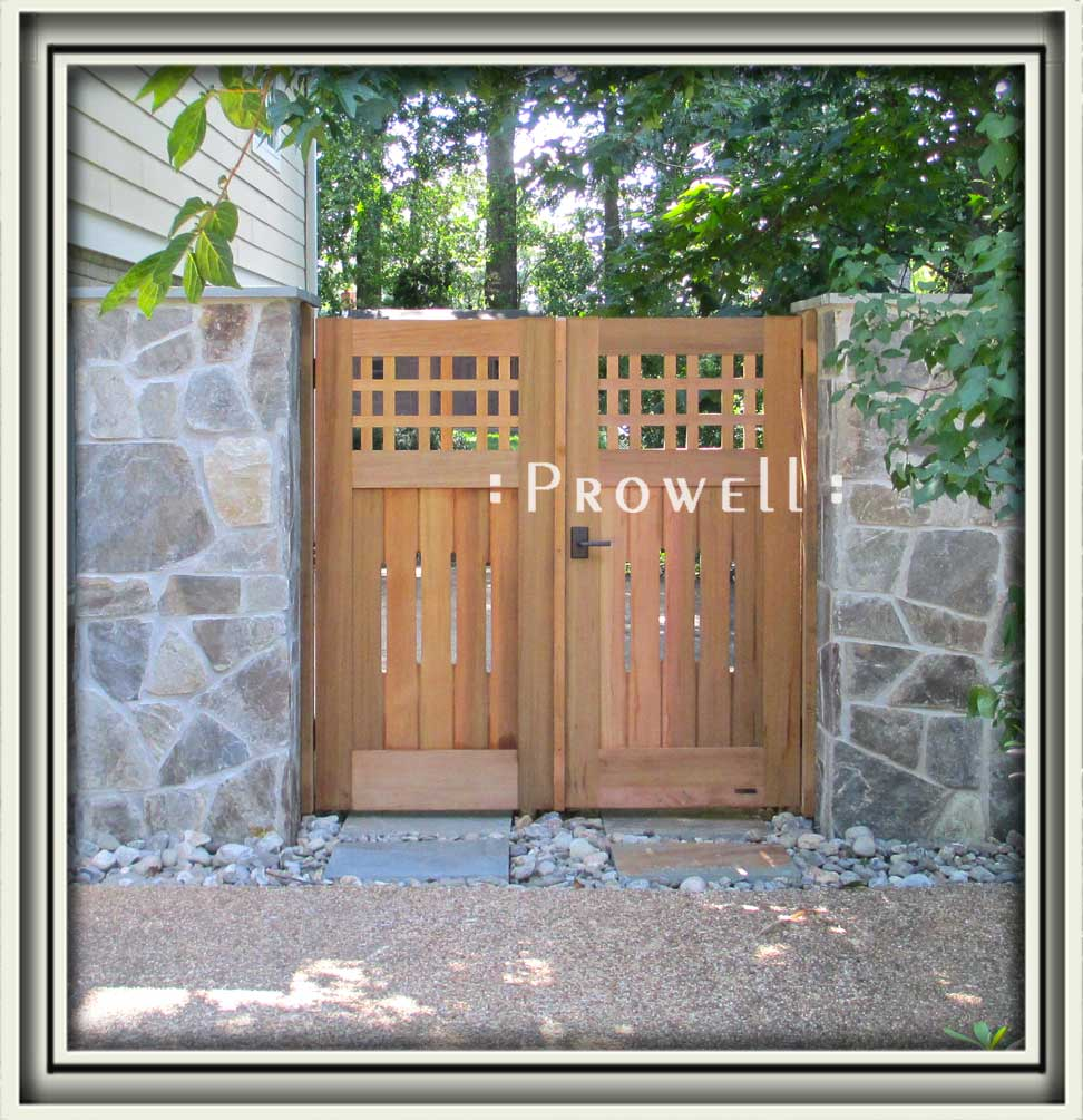 site photo showing wooden fences #3 in Virginia