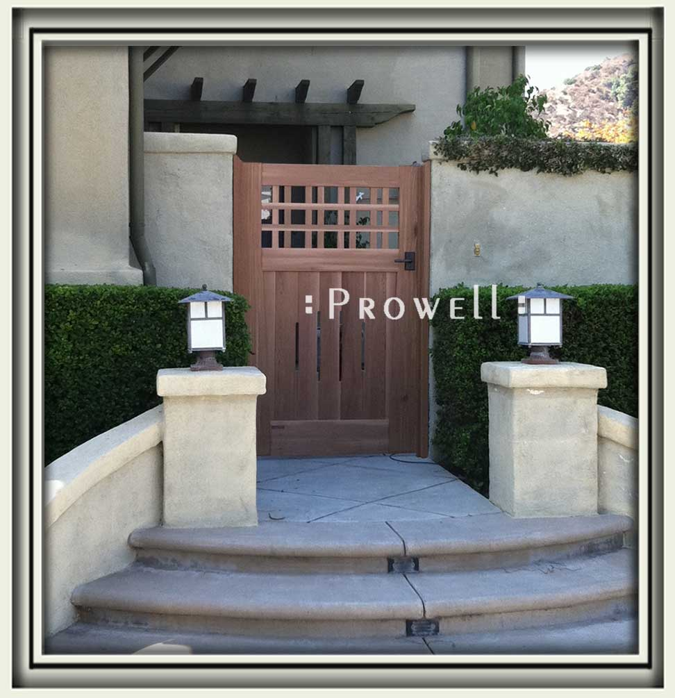 site photo of fences and gates #3-2 in Altadena, CA. prowell