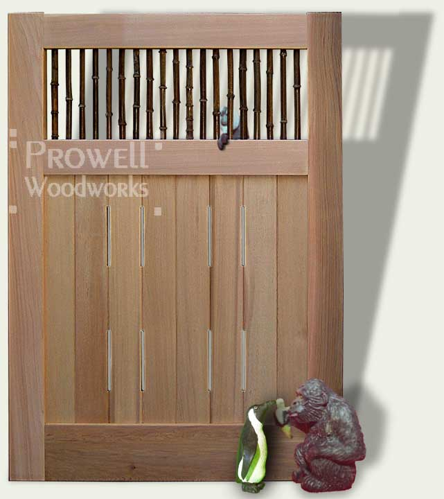 bamboo garden gates