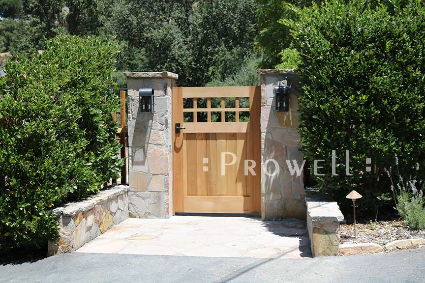 Site photo showing gate designs#4-10 in San Francisco bay area