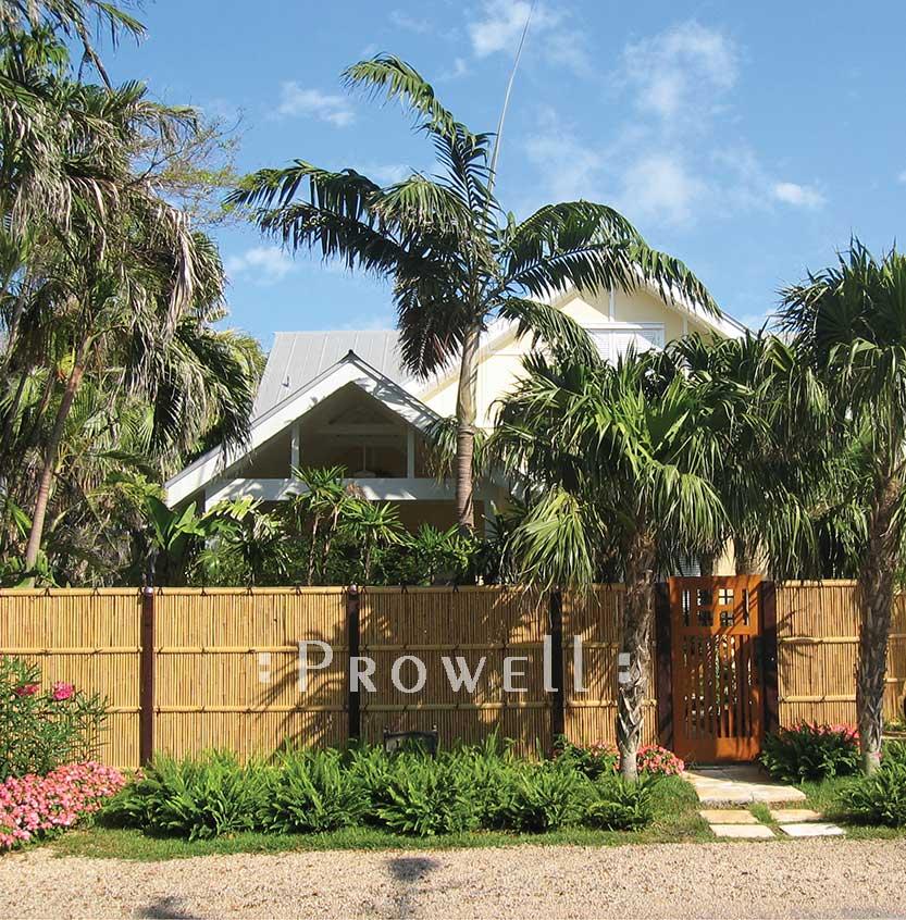 Key West Photo showing wooden gate design #52.