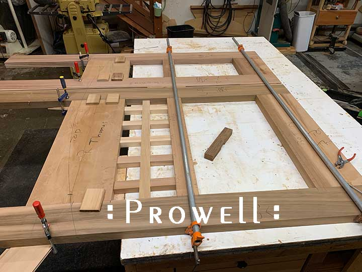 building prowell's gate style #53-7.