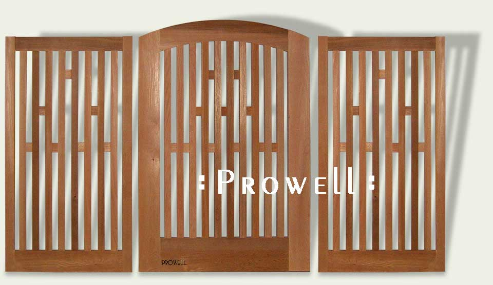cropped image showing gate picket fence #57-1 with Pattern Blocks