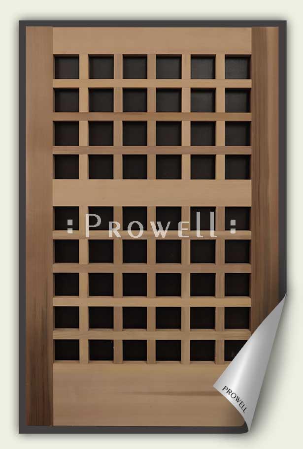 open grid wood gate #60-2. prowell