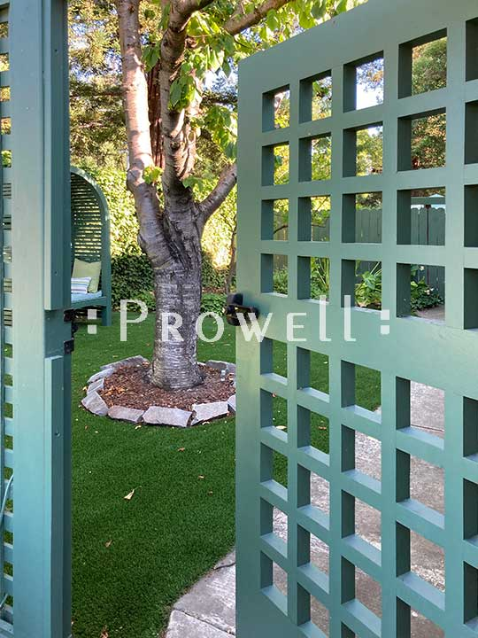 site photo of the green pool gate #60-2 in the san francisco bay area. c