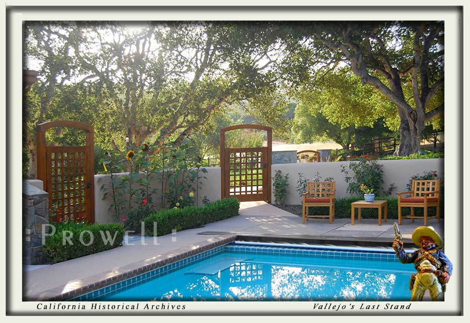 site photo showing pool gates #60 in Monterey, california.