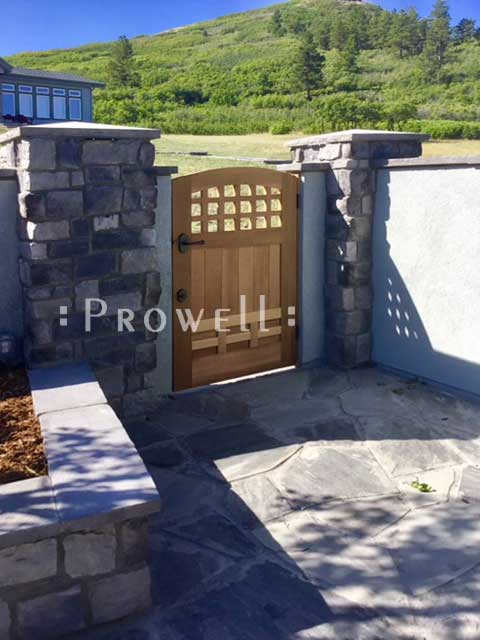wood gate #70-10 in Colorado. Prowell