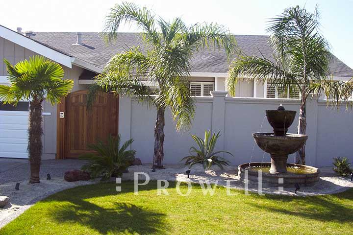 custom arching garden gates #76-4 in Marin County, CA