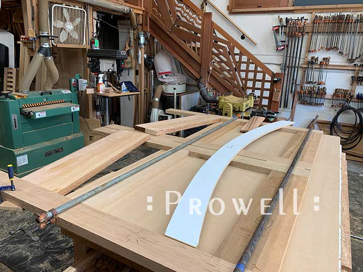 building gate 76-8 in the prowell shop