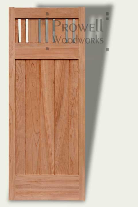 custom wood garden Fences and Gates