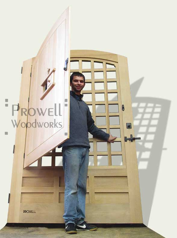 cropped photo showing ben prowell with gate #77A