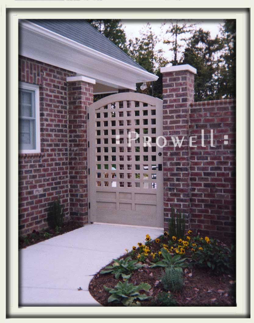 site photograph of garden gate #77 in North Carolina