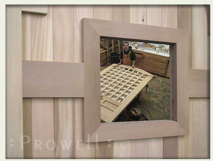 shop photo showing how to build window gate #78