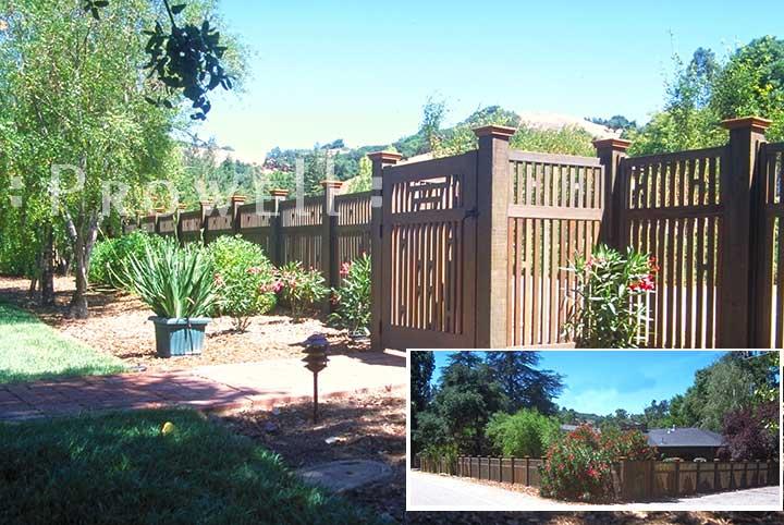 Custom Wood Garden Gate Japanese in San Anselmo, CA