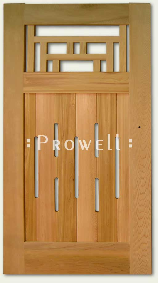 Japanese Wood gate #79. Prowell