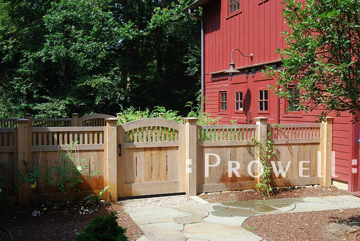 wood garden gates and fence panels #7 in Connecticut