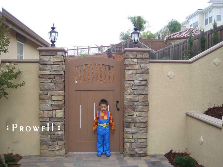 Wood gate door #7-10 in San Jose, California