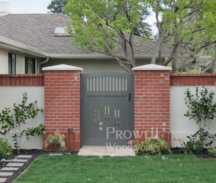 wooden gate door 7-15 in the San Francisco bay area