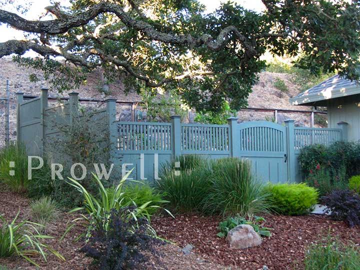 wood garden gates #7-16 in Sonoma County, California