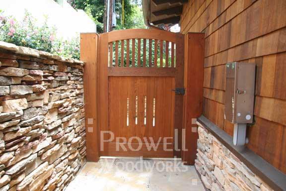 wood gates #7-2