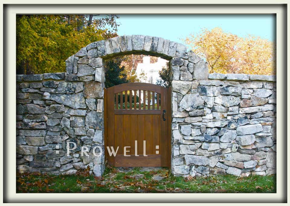 Wood gate door #7-3 in Virginia. Prowell